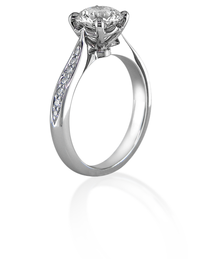 diamond ring,platinum