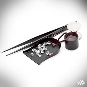 Polished Diamonds Loupe Tweezers
