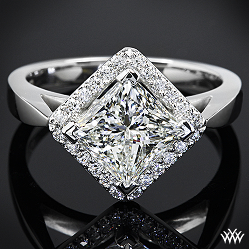 ct ring channel diamond white cut own your setmain gold princess in set engagement build