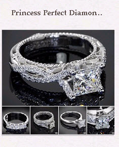 Princess Perfect Diamond Engagement Rings Pinboard