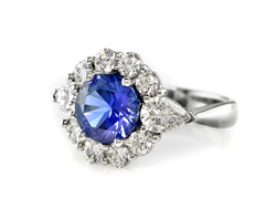 Diana Sapphire Engagement Ring