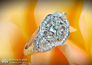 Radiant Diamond Engagement Ring(2)