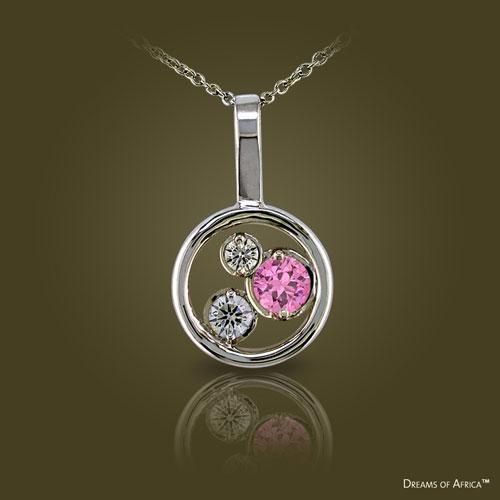 Dreams of Africa sapphire pendant