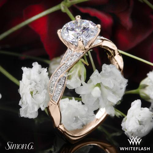 Simon G MR1498 Engagement Ring