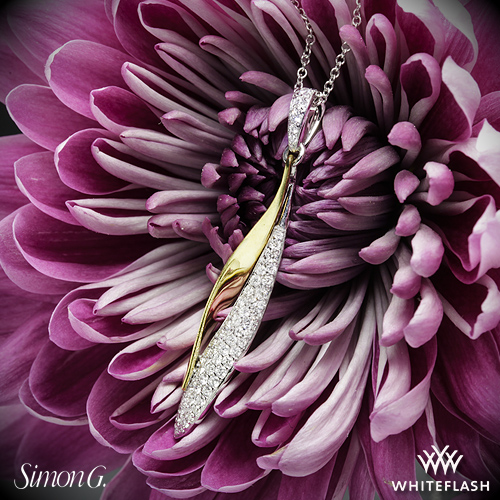 Simon G DP198 Diamond Pendant