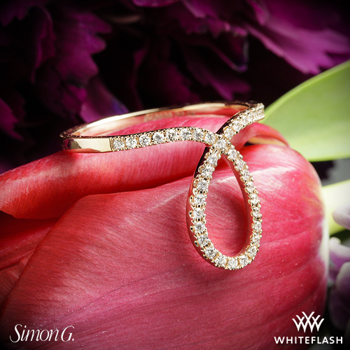 Simon G LP2314 Diamond Ring