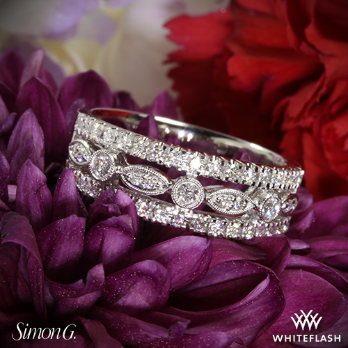 Simon G MR1174 Diamond Ring