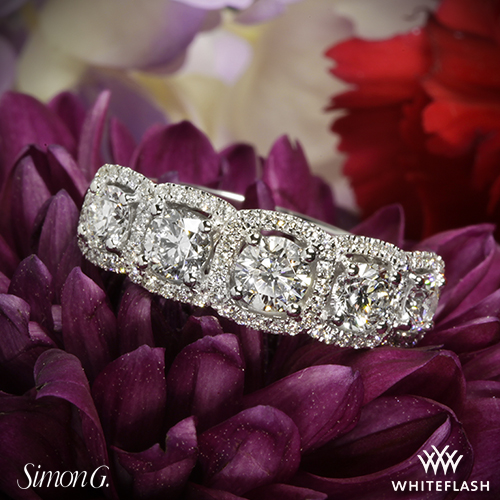 Simon G MR2630 Diamond Ring
