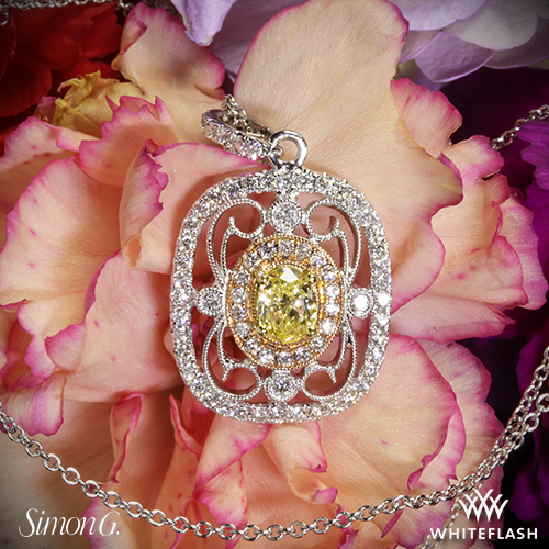 Simon G TP201 Diamond Pendant