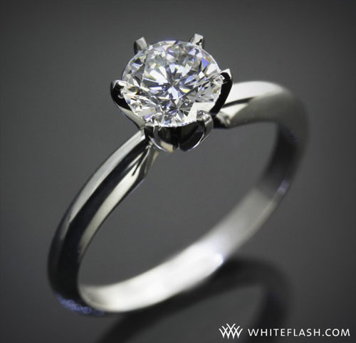 six prong tiffany engagement ring