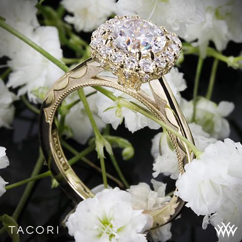 Tacori Full Bloom 55-2 Yellow Gold Ring