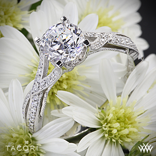 Tacori 2565 Ribbon Engagement Ring