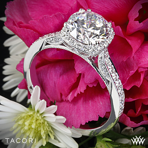Tacori 2620 Dantela Engagement Ring