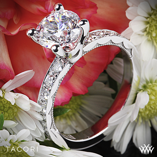 Tacori Sculpted Collection 41-3-RD Engagement Ring
