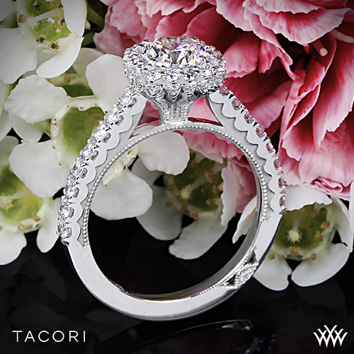 Tacori Full Bloom 37-2 CU Engagement Ring