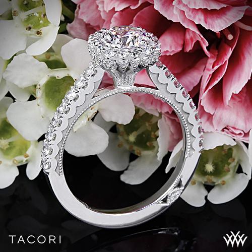 Tacori Full Bloom 37-2 CU Engagement Ring