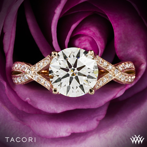 Tacori 2565 Rose Gold Engagement Ring