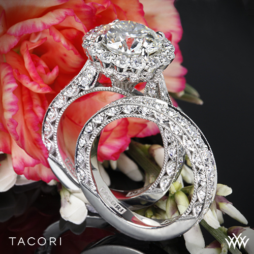 Tacori RoyalT Wedding Set
