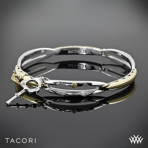 Tacori SB178YM Promise Bracelet in 18k Yellow Gold and Sterling Silver