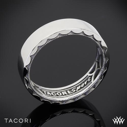 tacori 115 6st sport band - Sports Wedding Rings
