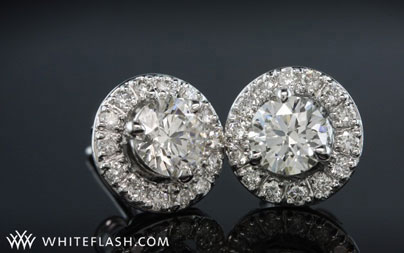 three prong martini studs with jackets glam
