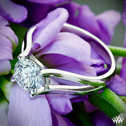 """Katie"" Solitaire Engagement Ring"