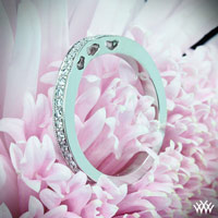 """Coeur de Clara Ashley"" Wedding Ring"