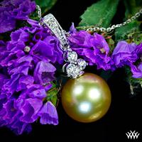 """Golden Pearl"" Pendant"