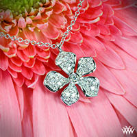 Five Leaf Flower Pendant