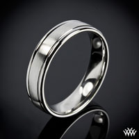 """Comfort Fit"" Wedding Ring"