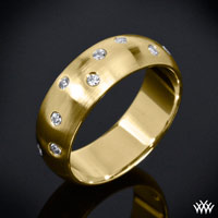 """Champagne"" Diamond Wedding Ring"