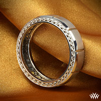 Verragio Beveled Chamber Wedding Ring