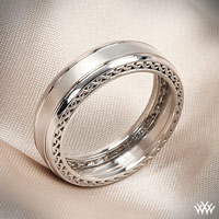Verragio Woven Satin Wedding Ring