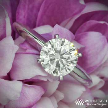 tiffany style engagement ring