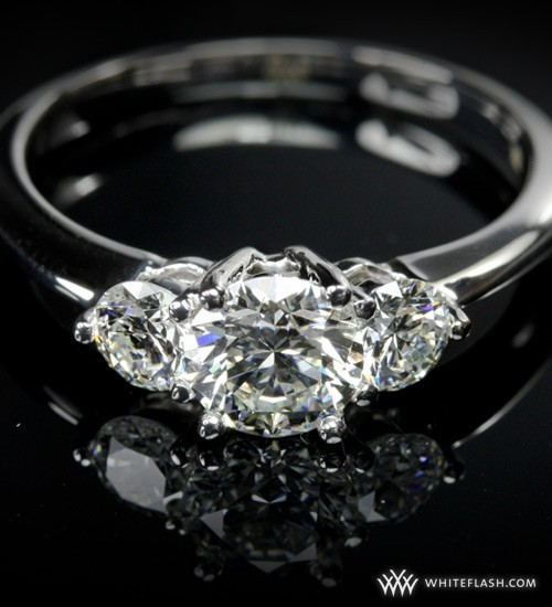 Trois Brilliant Engagement Ring