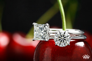 Vatche White Gold Solitaire Engagement Rings