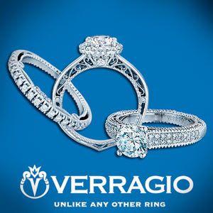 Verragio Engagement Rings and Wedding Ring