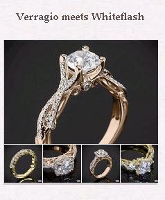 Verragio meets Whiteflash Pinboard