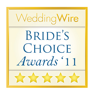 WeddingWire Brides choice Award 2011