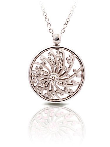 White gold pendant Dreams of Africa