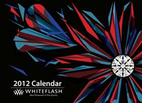 whiteflash 2012 calendar cover
