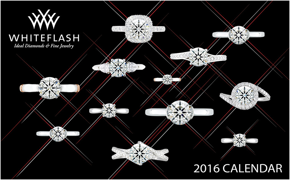 2016 Jewelry Calendar Whiteflash