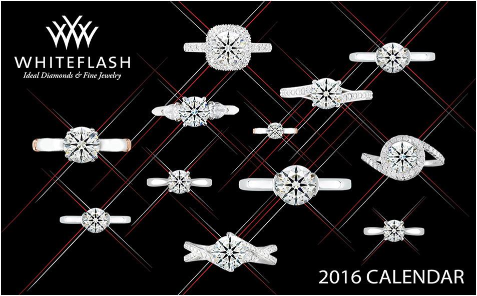 2016 Jewelry Calendar Whiteflash