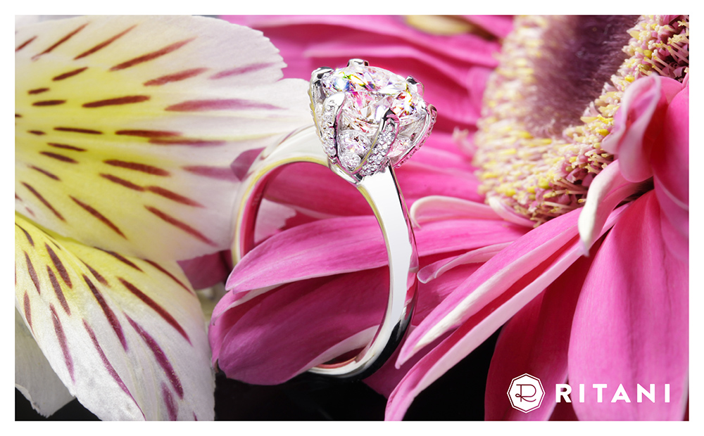 Ritani Engagement Ring 2016 Jewelry Calendar Whiteflash