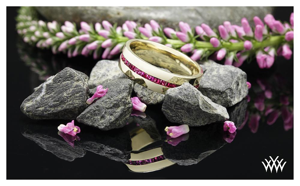 Custom Wedding Band 2016 Jewelry Calendar Whiteflash