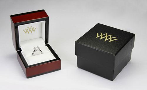 black jewelry box