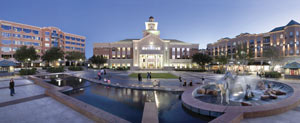 Sugar Land Town Square Plaza Houston Texas