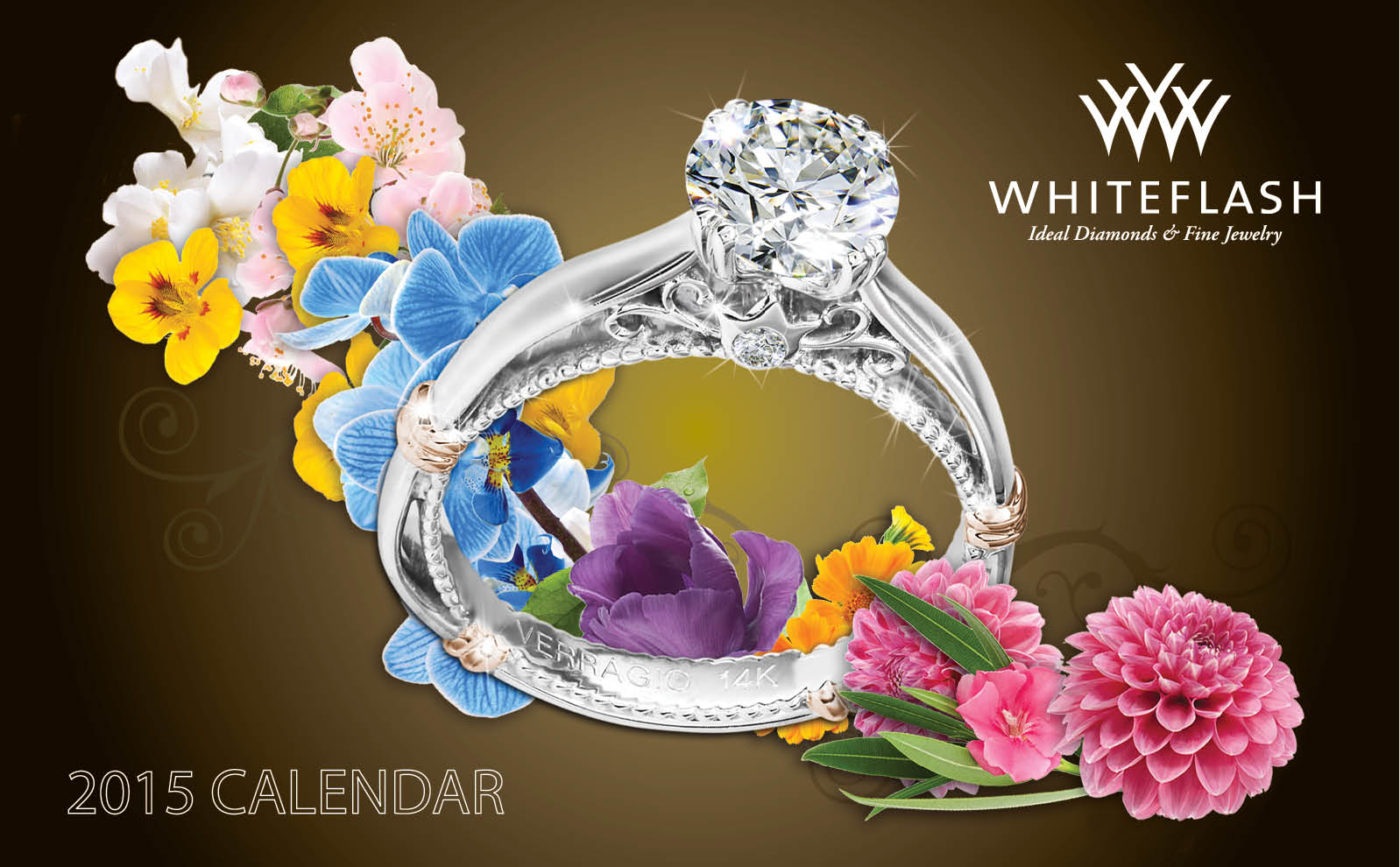 2015 Jewelry Calendar Whiteflash