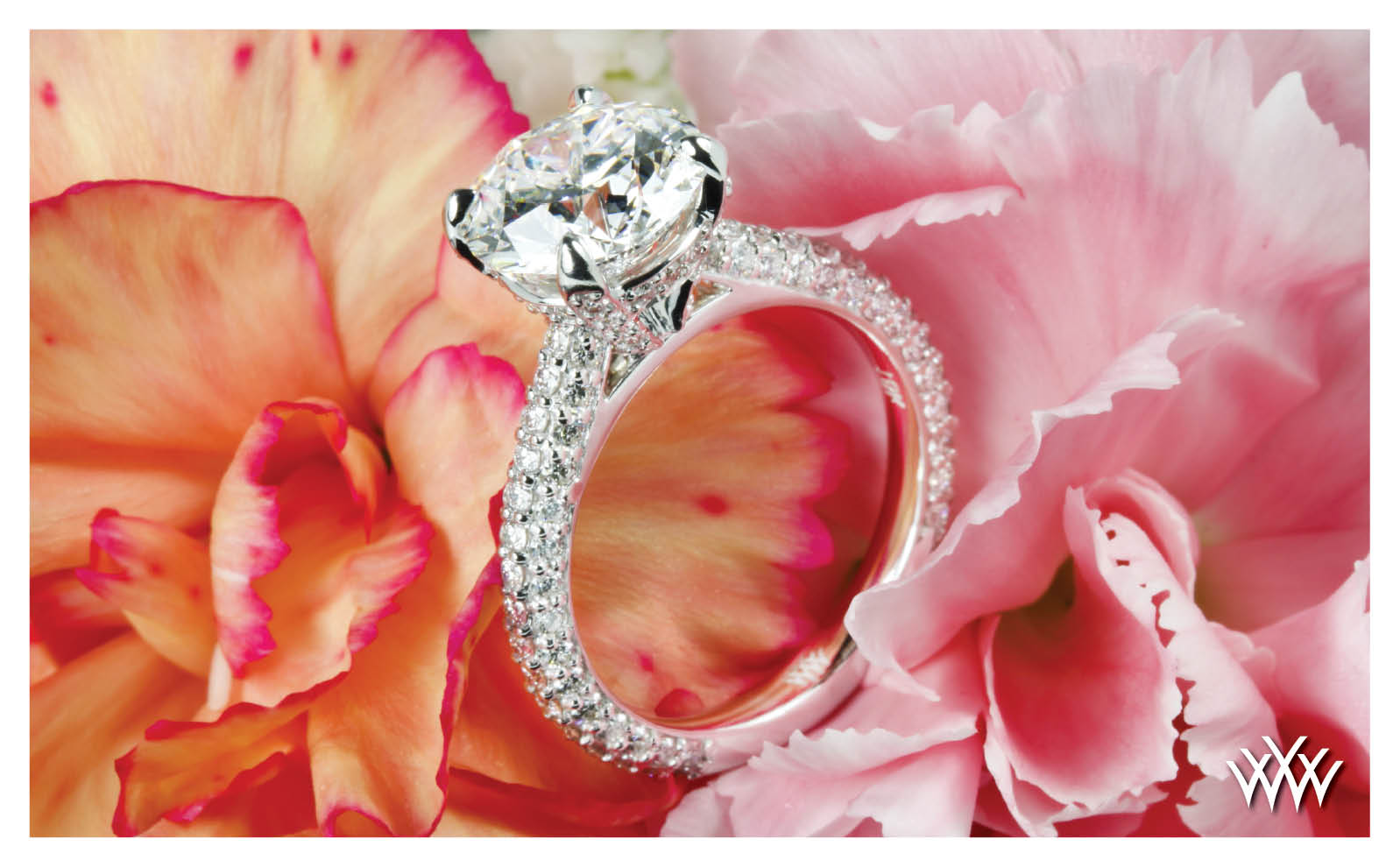 Whiteflash Signature Engagment Ring 2015 Calendar
