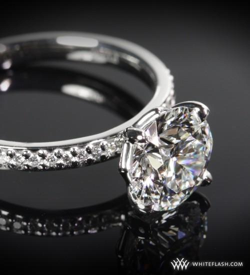 ideal-cut diamond wedding rings